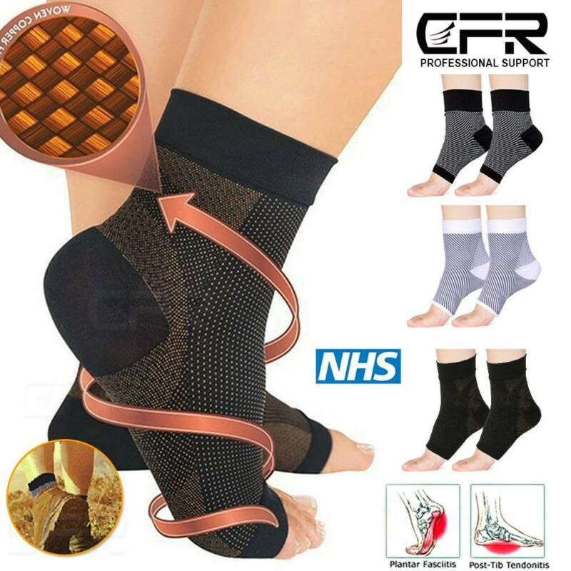 Compression Foot Sleeves Plantar Fasciitis Socks Pain Relief