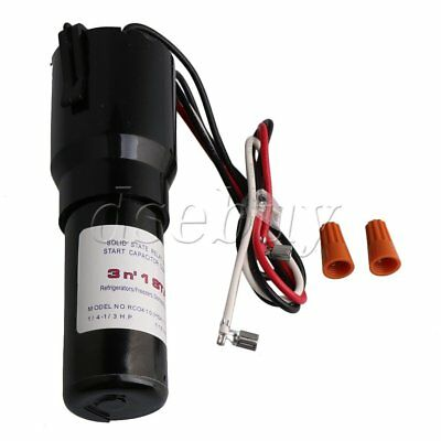 115V NO.RCO410 Start Kit 3 IN 1 Start Capacitor for Refrigerator for sale  Shipping to South Africa