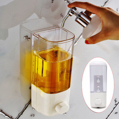 Zimmer Sanitizer (500ml Wandhalterung Seifenspender Flüssiger Sanitizer Badezimmer Zubehör)
