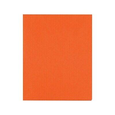 Staples School Grade 2 Pocket Folder Orange 25box 578539