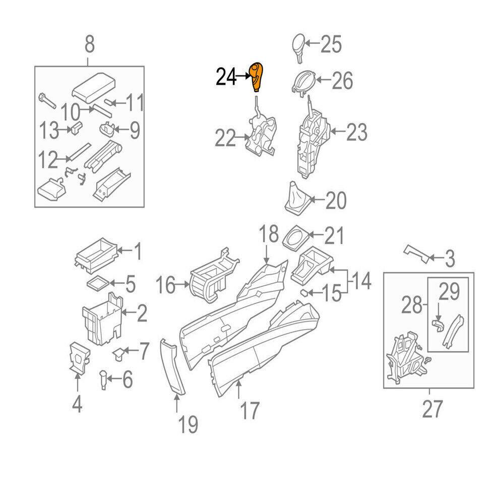 New 5/6 Speed Gear Shift Knob 54102SNAA01 for Honda Civic