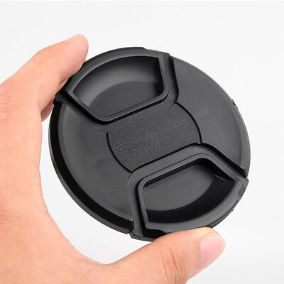 72mm Replacement Front Lens Cap Center Snap on Lens Caps For DSLR Camera Plastic ()