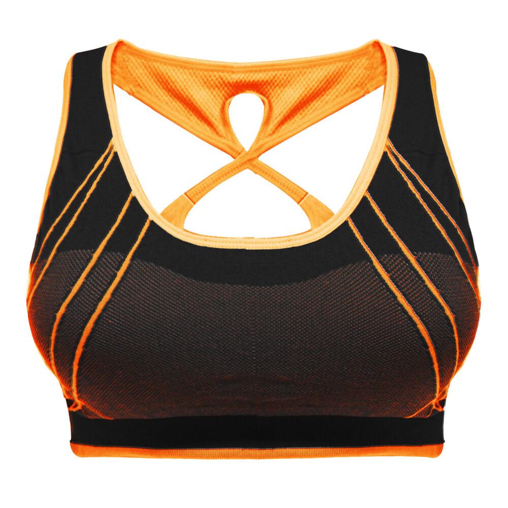 Sport BH Komfortabel NEU verschiedene Neon Farben Fein Trend4You 6614