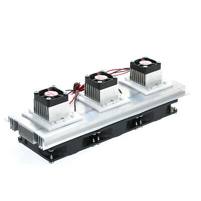 180w Trinuclear Thermoelectric Peltier Refrigeration Air Cooling System Kit F9c4