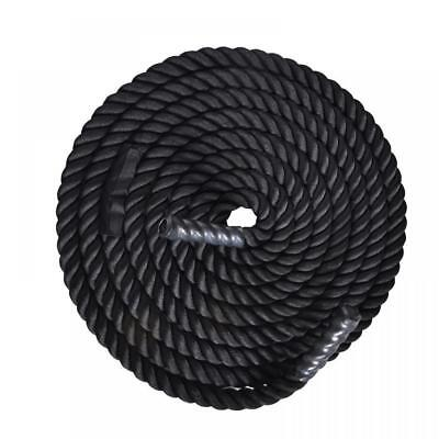 """2""""Poly Dacron 40FT Strength Training Battle Rope Fitness Exercise"""