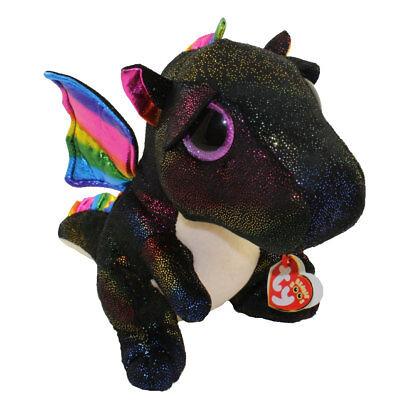 "TY 9"" Medium ANORA Dragon Beanie Boos Plush Stuffed Animal w/ Ty Heart Tags 2018"