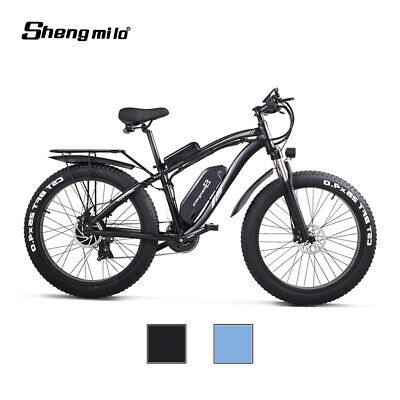 New Electric Bicycle 48V 1000W suvs ebike Mountain bike fat tire Moped Car Adult