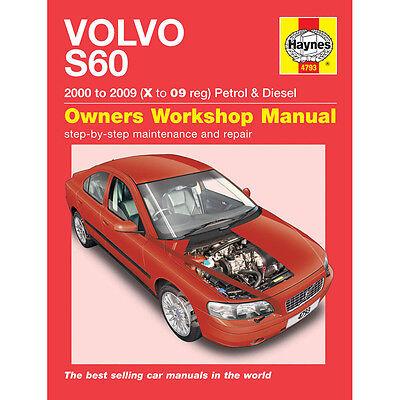 Volvo S60 2.0 2.3 2.4 2.5 Petrol 2.4 2.5 TD 00-09 (X to 09 Reg) Haynes Manual