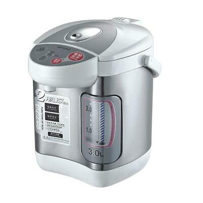 Hot Water Dispenser Boil Reheat Keep Warm Functions Stainless Steel Pot 3 L New