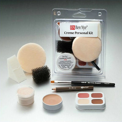 Ben Nye Student Personal Creme Kit PK-0 Fair: Lightest Theatrical Makeup Set