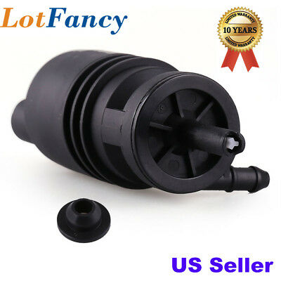 Windshield Washer Pump For BMW E46 E38 E39 E60 E65 E53 X5 Z4 M3 325i w/ Grommet