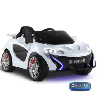 Kids Ride On Car White