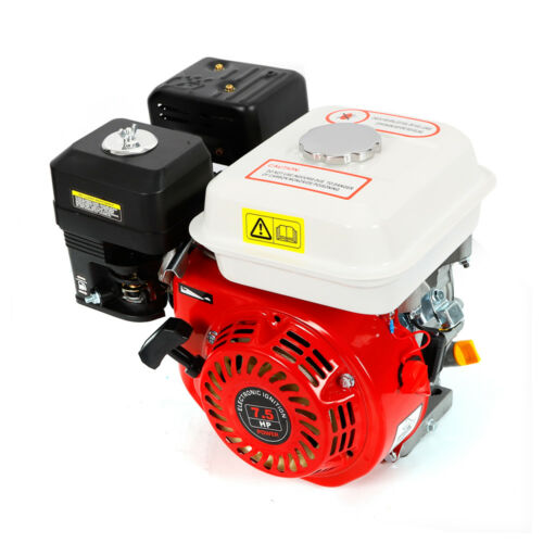 7.5HP 4 Stroke Petrol Gasoline Engine Rotavator Pressure Washer Engine UK STOCK