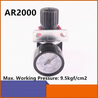 Ar2000 G14 Air Control Compressor Pressure Gauge Regulator Relief Valve Gauge