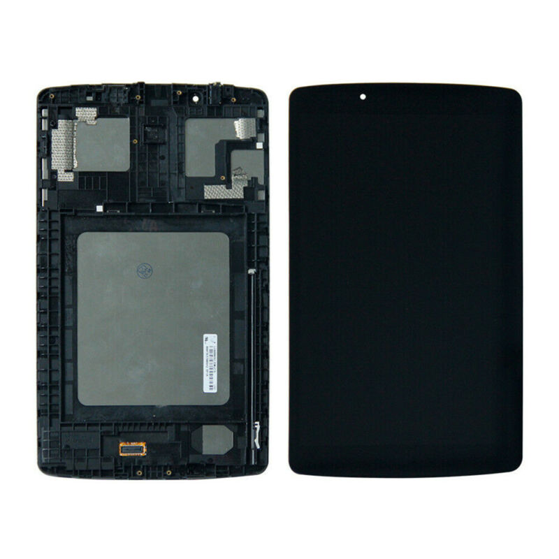 LCD Display Touch Screen Digitizer Assembly Frame For LG G Pad F 8.0 V495 V496