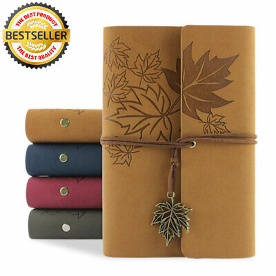 A6 Vintage Notebook PU Diary Sheet Notebooks Travel Diary Note Book