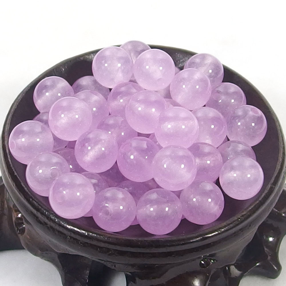 Bulk Gemstones I natural spacer stone beads 4mm 6mm 8mm 10mm 12mm jewelry design lavender jade