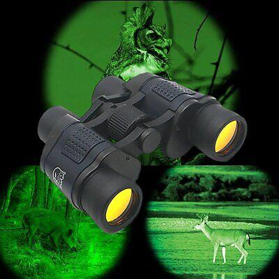 Professional HD 60x60 Military Army Optics Zoom Binoculars Day/Night Telescope