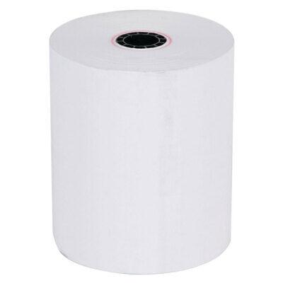 Thermal Paper Receipt Rolls 3-18 X 230 White 50 Rolls Pos Cash Register Tape