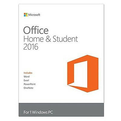 Microsoft Office Home and Student 2016 Windows English PC Key Card 79G-04368