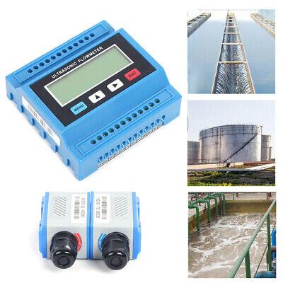 Digital Liquid Flow Meter Ultrasonic Tuf-2000m Flowmeter Ts2 Sensor Cable Us