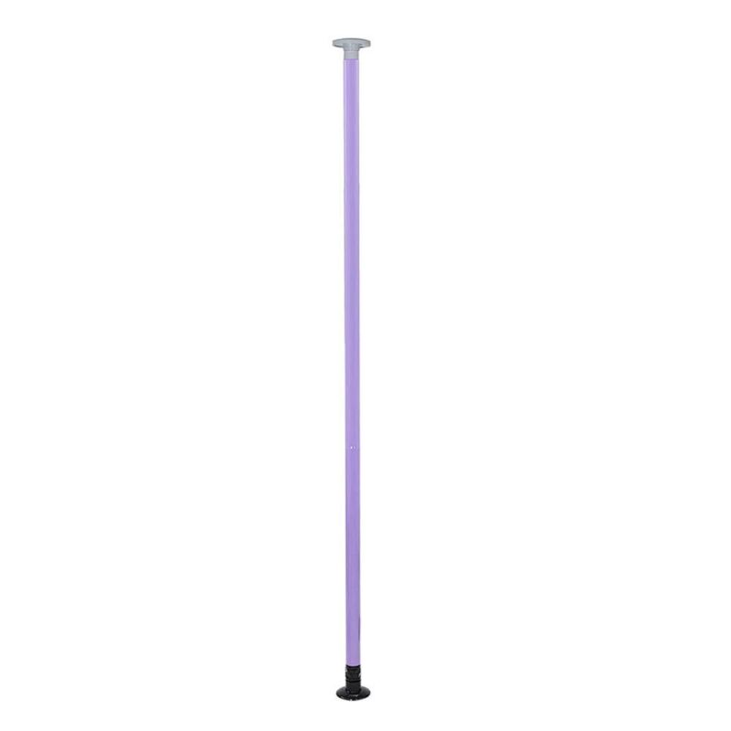 Portable  Purple Dance Pole Full Kit Stripper Party Dancing Exercise Fitness