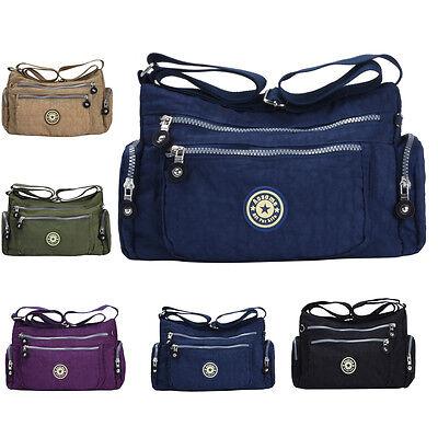 Bag - Women Tote Messenger Cross Body Handbag Hobo Bag Ladies Nylon Shoulder Bag Purse