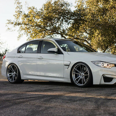 """20"""" HRE FF04 FLOW FORM SILVER CONCAVE WHEELS RIMS FITS BMW E90 M3 SEDAN for sale  Shipping to Canada"""