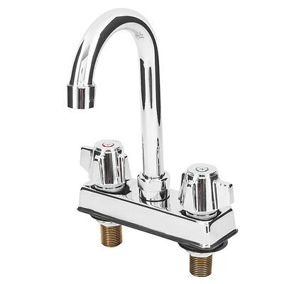 Low Lead Deck Mount Faucet with 4