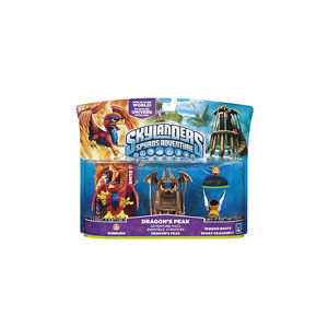 Skylanders-Dragons-Peak-Adv-Pack-Sunburn-Works-with-Giants-Swap-Force-Spyros