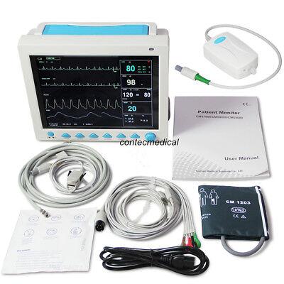 Respiratory Co2 Capnograph Icuccu Vital Signs Patient Monitor 7 Parameter Etco2