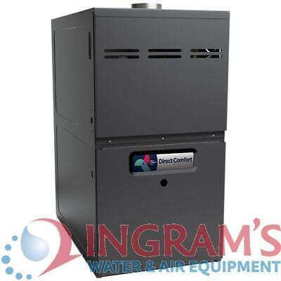80k BTU 80% AFUE Multi Speed Direct Comfort Gas Furnace - Up