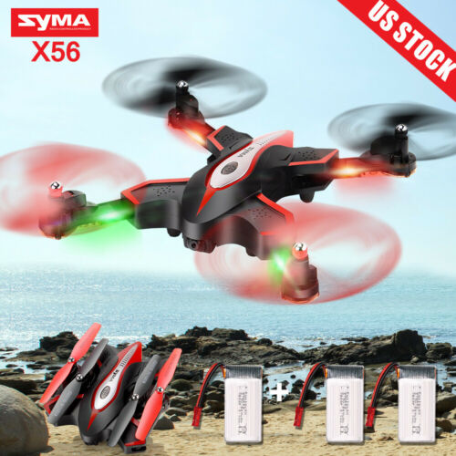 Foldable SYMA X56 6-Axis Quadcopter 2.4Ghz Remote Controller Drones Warranty