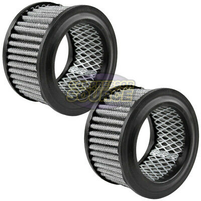 2 Pack Air Compressor Intake Filter Polyester Element With Pre Filter Ap425 15p
