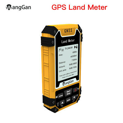 Wanggan Portable Gps Land Measuring Meter Area Measurement Land Surveying Tool