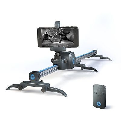 Grip Gears Movie Maker Set   Electronic Sliding Track System 360  Panoramic New