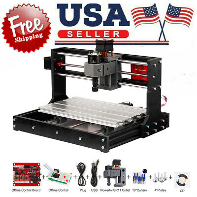 Cnc 3018 Pro Grbl Control Diy Cnc Engraving Machine Pcb Milling Wood Router N6z3