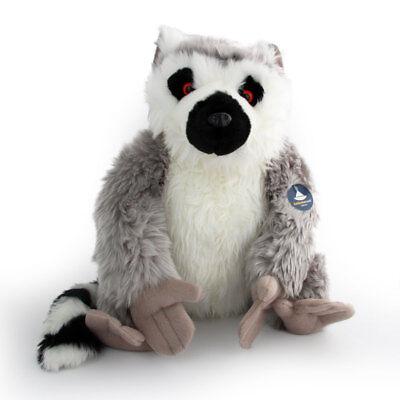 Lemur Stofftier (Stofftier Katta XL sitzend, Plüschtier, Kuscheltier, Lemur (H. ca. 38 cm))