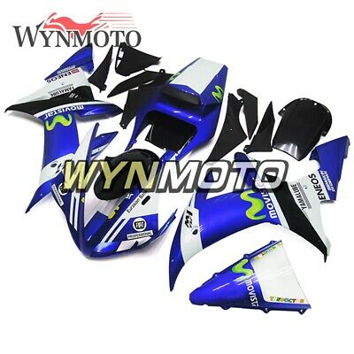 Body Kits for Yamaha YZF1000 R1 2002 2003 02 03 ABS Plastic Injection Blue White
