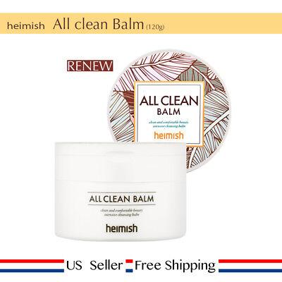 Heimish All Clean Balm 120ml Korea Cosmetic RENEW + Free Sample [US Seller]