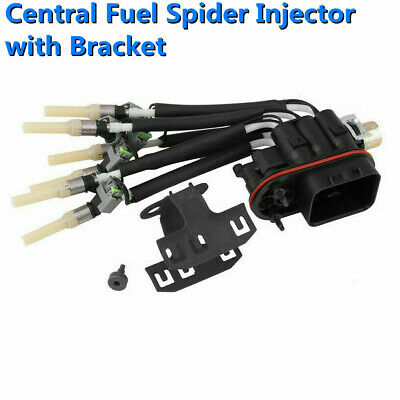 Central Fuel Spider Injector+Bracket Assembly For Chevy Gmc Pickup 4.3L 17113673