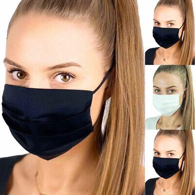 Gesichts Mund Nasen Maske Behelfsmaske Baumwolle Waschbar Stoffmaske Mundschutz
