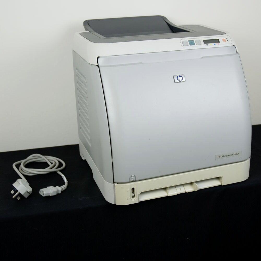hp color laserjet 2600n colour printer with extra black cartridge rh gumtree com hp color laserjet 2600n printer service manual hp color laserjet 2600n universal print driver