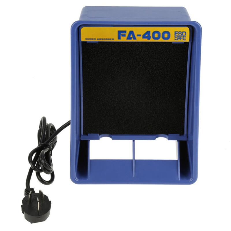 110V Solder Smoke Absorber Remover Fume Extractor Air Filter Fan Soldering