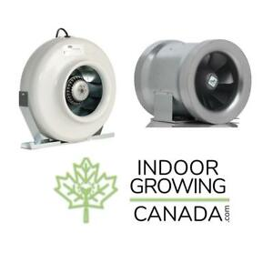 Can-Fan Inline Fans - Indoor Hydroponic and Soil Growing | IndoorGrowingCanada.com