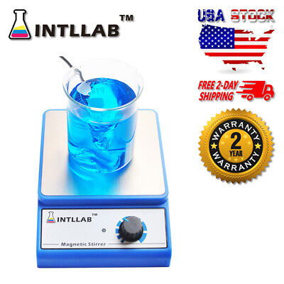 Intllab Magnetic Stirrer Magnetic Mixer With Stir Bar 3000ml