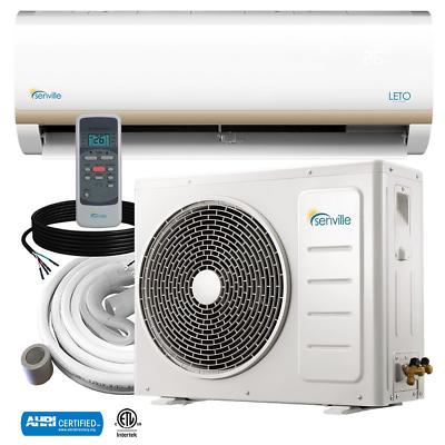 18000 BTU Ductless AC Mini Split Heat Pump Air Conditioner 1