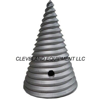 New Auger Log Splitter Cone For Skid Steer Loader Excavator Auger Attachments