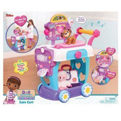 Disney Jr Doc McStuffins Toy Hospital Care Cart Light and Sound NEW](Doc Mcstuffins Cart)