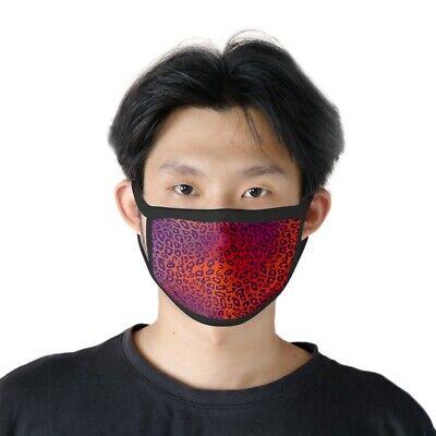 Máscara Estampado Leopardo Rojo